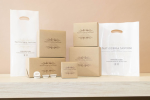 packaging pasticceria