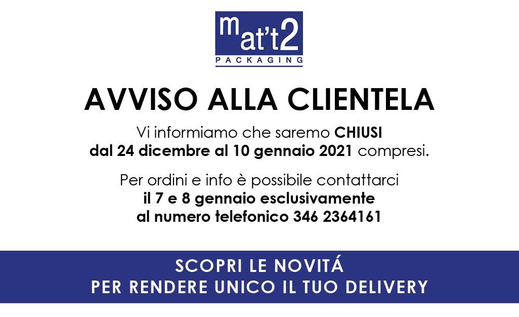 Mat't2 chiusura natalizia 2020