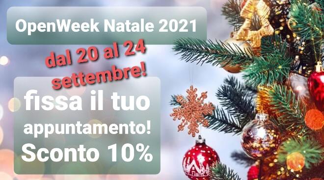 Mat't2 OpennWeek Natale 2021